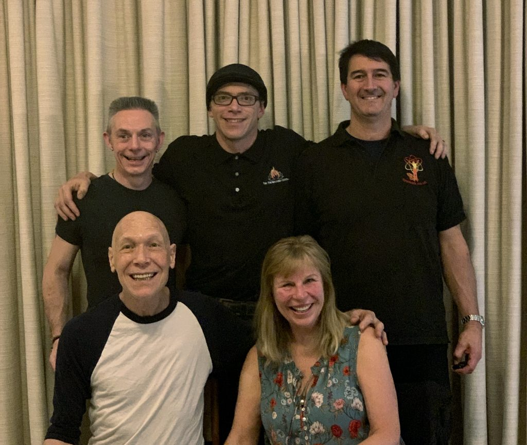 Tolly Burkan, Peggy Dylan, Steve Consalvez, Kevin Axtell & Barry Collins